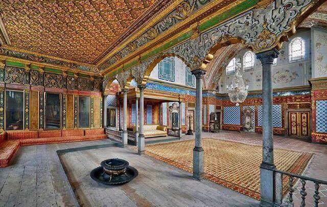 O Palácio de Topkapi